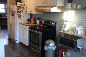 DIY Blue and White Kitchen Renovation