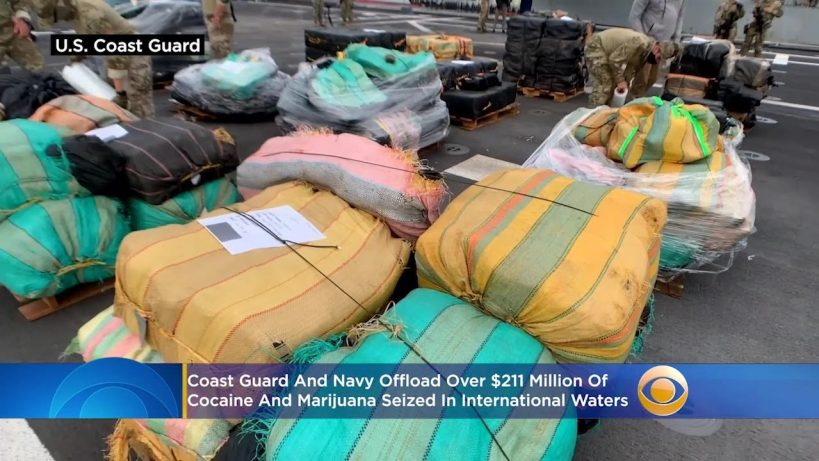 20000-pounds-of-cocaine-marijuana-worth-211-million-seized-from-international-waters-offloaded-in-2