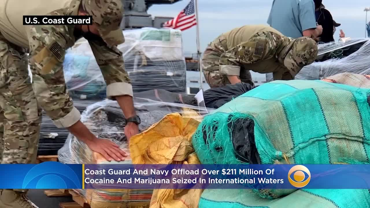 20000-pounds-of-cocaine-marijuana-worth-211-million-seized-from-international-waters-offloaded-in