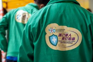 Fosun Pharma falls as Hong Kong suspends BioNTech Covid vaccinations