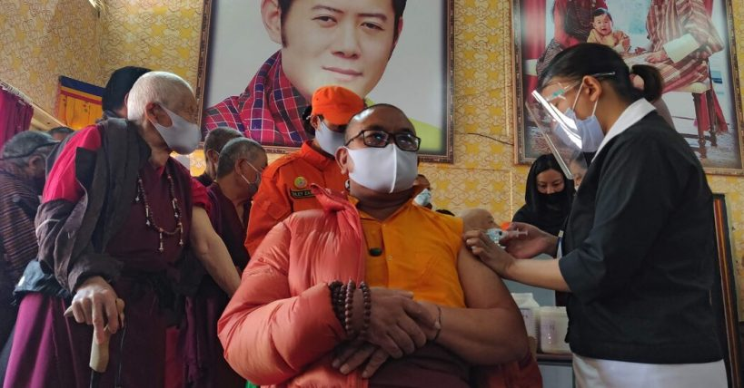 how-the-tiny-kingdom-of-bhutan-out-vaccinated-most-of-the-world