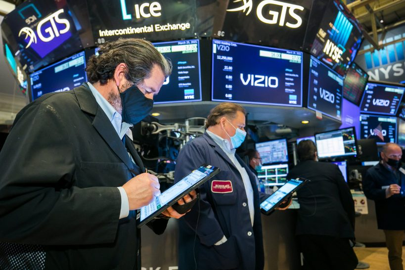 dow-falls-150-points-from-a-record-high-nasdaq-sheds-more-than-1