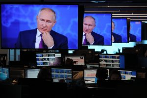Putin reveals he had the Sputnik V shot as Russia struggles with Covid