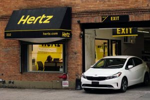 Hertz benefited from high demand for used cars during the pandemic, when it sold off more than 200,000 vehicles.
