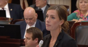 WATCH: Democrats Scream, Lose Their Minds After Female GOP Rep Proposes Amendment To Protect Female Athletes From Competing Against Males