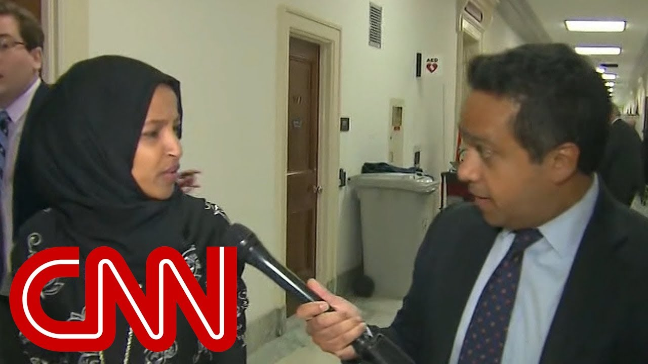 rep-ilhan-omar-gets-upset-with-cnn-reporter-what-is-wrong-with-you